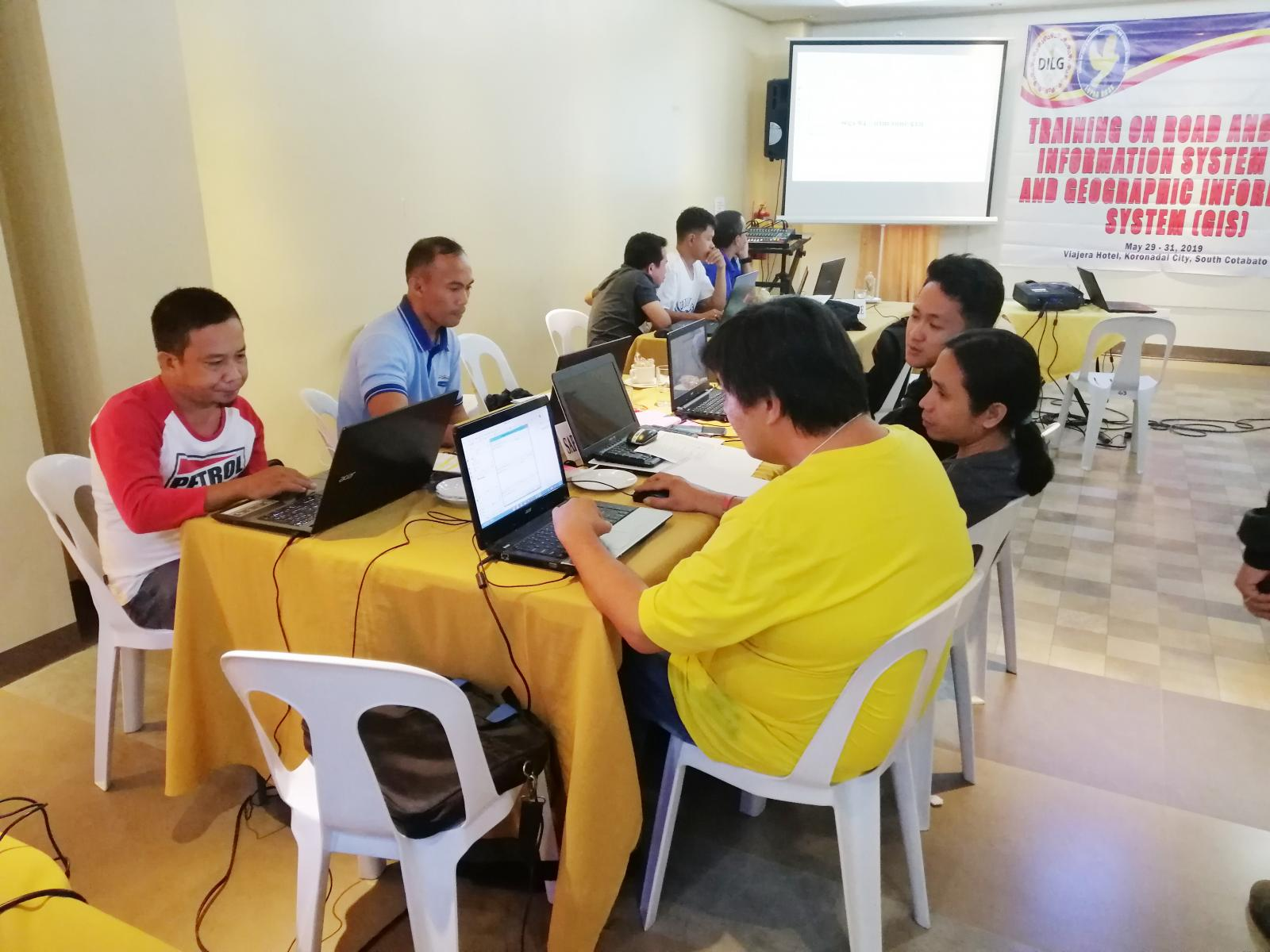 RBIS-GIS Training Workshop | Department of the Interior and Local